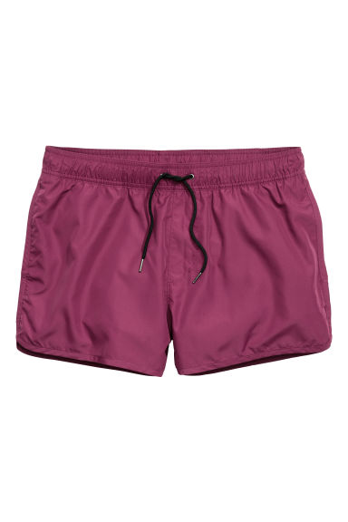 Swim shorts - Plum - Men | H&M CN