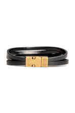 Multistrand bracelet - Black - Men | H&M 1