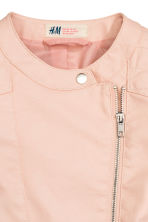 Biker jacket - Powder pink - Kids | H&M CN 3