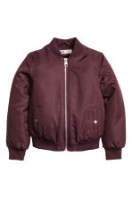 Bomber imbottito - Bordeaux -  | H&M IT 2