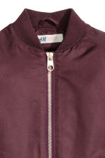 Bomber imbottito - Bordeaux -  | H&M IT 3