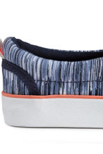 Slip-on trainers - Blue marl - Kids | H&M CN 4
