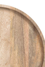 Round wooden tray - Beige - Home All | H&M 3