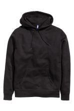 Hooded top - Black -  | H&M CN 2