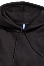 Hooded top - Black -  | H&M 3