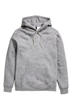 Hooded top - Grey marl -  | H&M 2