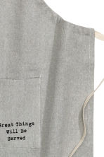 Apron - Grey - Home All | H&M CN 2
