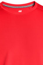 Short-sleeved sports top - Red - Men | H&M CN 3