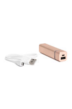 Portable charger - Rose gold - Ladies | H&M CN 1