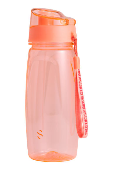 Water bottle with a lid - Orange - Ladies | H&M CN