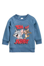 Felpa con stampa - Blu/Tom and Jerry - BAMBINO | H&M IT 1