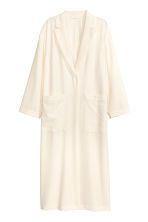 Crêped coat - Natural white - Ladies | H&M CN 2