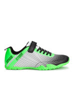 Patterned trainers - Neon green/Black - Kids | H&M CN 1