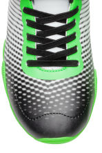 Patterned trainers - Neon green/Black - Kids | H&M CN 3