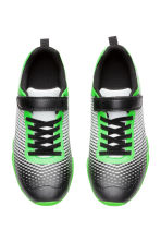 Patterned trainers - Neon green/Black - Kids | H&M CN 2
