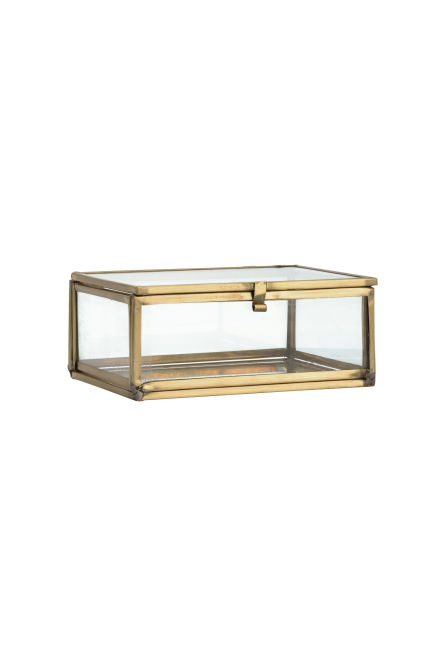 Small clear glass box