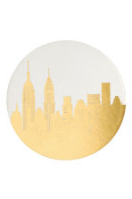 4-pack coasters - White/New York - Home All | H&M CN 3