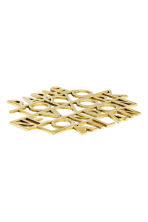 Metal trivet - Gold/Cities - Home All | H&M CN 2