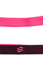 6-pack hair elastics - Neon pink - Ladies | H&M IE 2