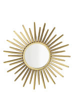Round mirror - Gold - Home All | H&M GB 2