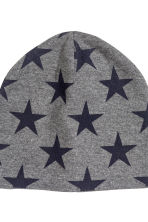 2-pack jersey hats - Dark grey/Stars - Kids | H&M CN 2