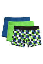 3-pack boxer shorts - Cornflower blue - Kids | H&M CN 1