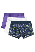 3-pack boxer shorts - Purple - Kids | H&M CN 1