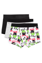 3-pack boxer shorts - White/Dogs  - Kids | H&M CN 1
