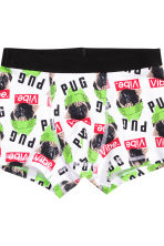 3-pack boxer shorts - White/Dogs  - Kids | H&M CN 2