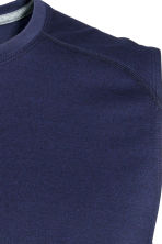 Sports top - Dark blue - Men | H&M CN 3
