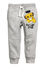 Joggers - Grey/The Lion King - Kids | H&M CN 2