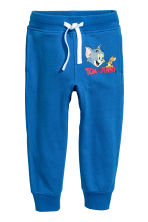 Joggers - Blue/Tom and Jerry - Kids | H&M CN 2