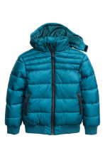 Padded jacket - Petrol - Kids | H&M CN 2