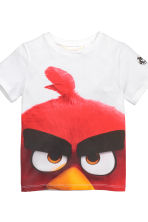 T-shirt, 2 pz - Nero/Angry Birds - BAMBINO | H&M IT 4