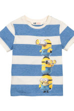 2-pack T-shirts - Grey/Minions - Kids | H&M CN 3
