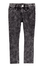 Super Soft Skinny Fit Jeans - 水洗黑色 -  | H&M CN 2