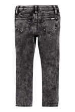 Super Soft Skinny Fit Jeans - Black washed out -  | H&M CN 3