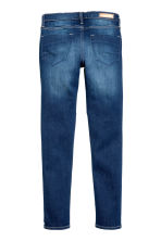 Skinny Fit Biker Jeans  - Denim blue - Kids | H&M CN 3