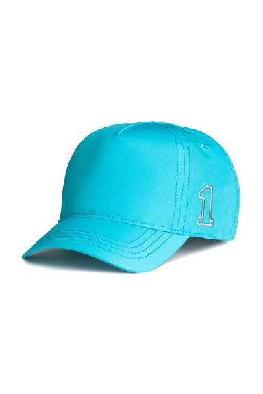 Casquette avec broderie - Turquoise -  | H&M FR 1