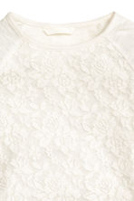 Lace top - White - Kids | H&M CN 3