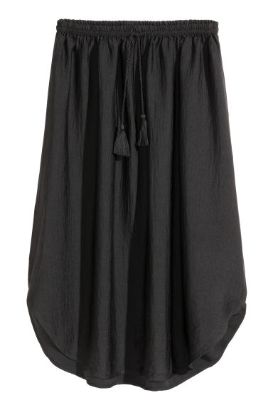 Drawstring skirt - Black - Ladies | H&M GB