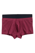 3-pack boxer shorts - Burgundy/Star - Men | H&M CN 2