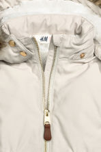 Padded parka - Light beige - Kids | H&M CN 3