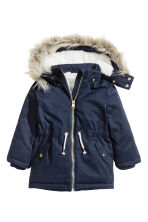 Padded parka - Dark blue - Kids | H&M CN 2