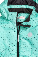 Padded winter jacket - Mint green/Spotted - Kids | H&M CN 3