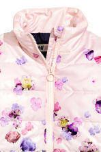 Lightweight jacket - Light pink/Floral -  | H&M CN 3