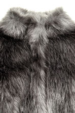 Faux fur jacket - Dark grey - Kids | H&M CN 3