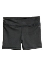 Short sports tights - Black - Kids | H&M CN 2
