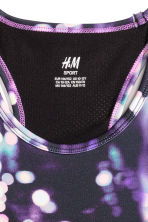 Sports top - Black/Purple - Kids | H&M CN 3
