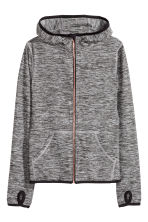 Sports jacket - Dark grey marl - Kids | H&M CN 2